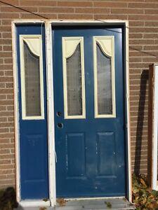 REDUCED steel door