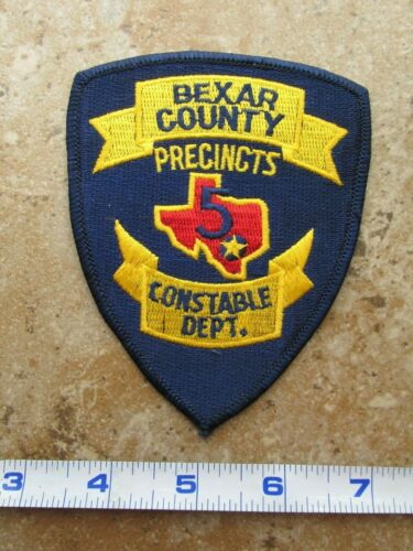 OBSOLETE Vintage State of Texas Bexar County Constable Department Pct. 5 Patch