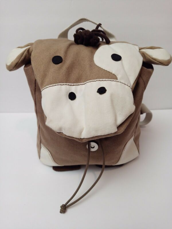 Pottery Barn Kids Cow Tote Bag Backpack