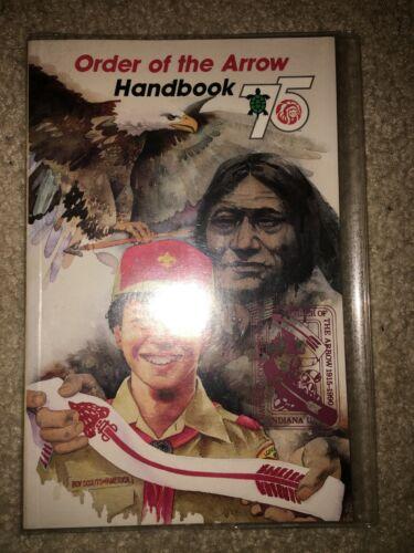 Boy Scout Order Arrow 1990 Printing NOAC Cover Ordeal OA Lodge Handbook Book