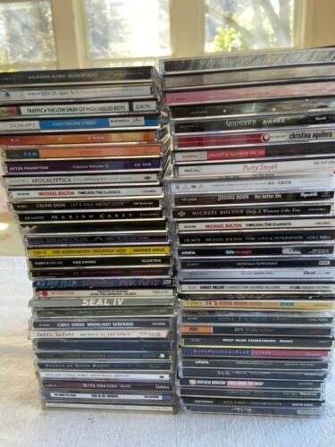 HUGE LOT OF OVER 50 ROCK/POP CDs