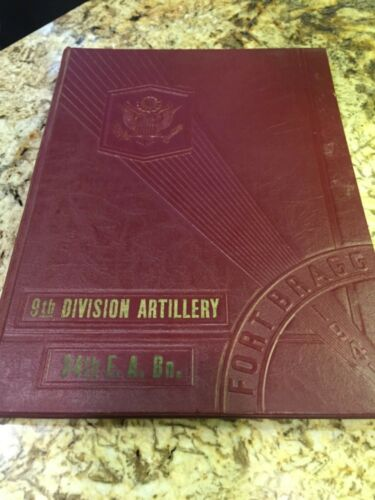 WWII US Army 9th Division Artillery Basic Training Yearbook - 1941 Fort Bragg NC