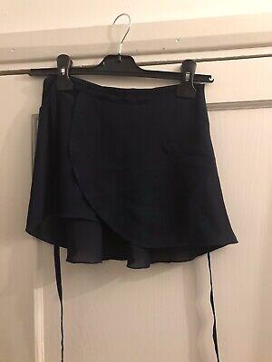 Bloch  Girls Navy Ballet Skirt Size Small comprar usado  Enviando para Brazil