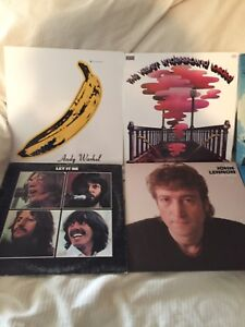 Classic rock record vinyl LPs for sale