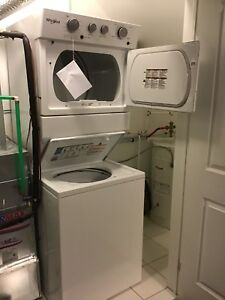 Whirlpool Laundry Center. GREAT FOR CONDO!