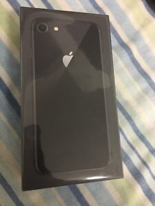 iPhone 8 64gb black brand new