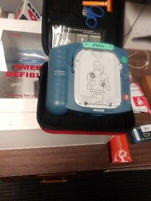 Philips Heartstart Hs1 Aed Defibrillator Nos Parts Never Used Exp. See Descript