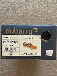 DUBARRY ladies boat shoes - size 38 Neutral Bay North Sydney Area Preview