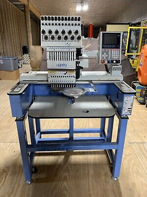 Happy Embroidery Machine Hca-1201-40ttc With Hoops