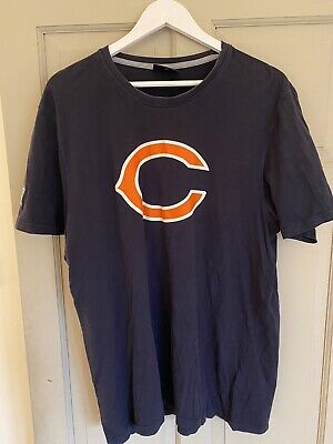 New Era Chicago Cubs T Shirt Blue Size XL Used But Great Condition.