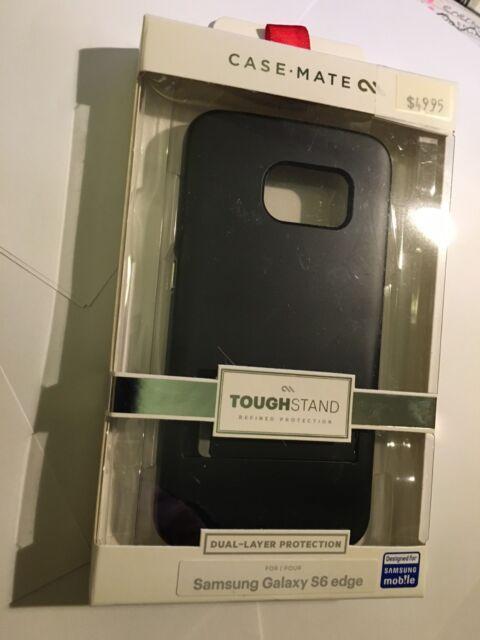 CASE-MATE TOUGH STAND Protector Case Samsung Galaxy S6 Edge Black/Grey CM032576
