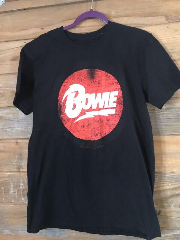 """David Bowie """"Bowie"""" logo t-short by Bravado NWT Medium"""