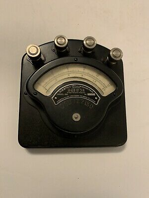 Vintage Weston Model 280 Milliammeter