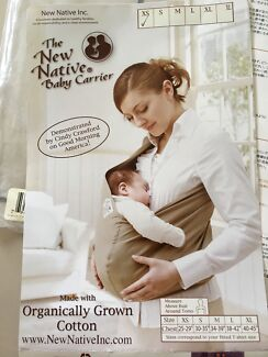 b9f4b9e530d The New Native Organic Cotton 100% Baby Carrier