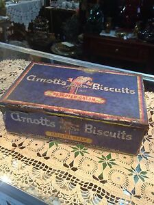 Arnott's Biscuits Tin Seven Hills Blacktown Area Preview