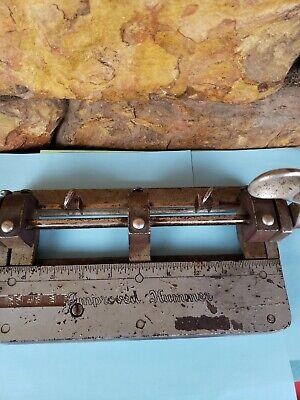 Vintage Wilson Jones Co Improved Hummer 3 Hole Punch Adjustable 308