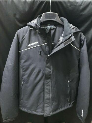 Bauer Hockey Heavyweight Parka Jacket - Black *NEW* Senior Small