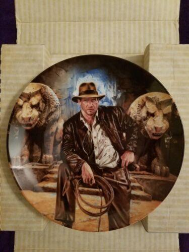 Indiana Jones Last Crusade Delphi Plate 1; w/COA; In Box