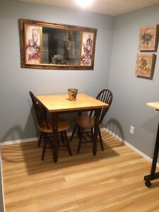 FULLY FURNISHED BASEMENT SUITE-all utilities/cable internet inc
