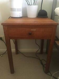 Beautifully Hand Crafted Real Timber Bedside Table Paddington Brisbane North West Preview