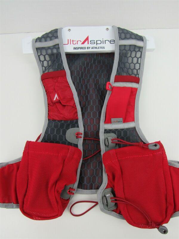 UltrAspire Alpha 3.0 Hydration Running Vest-Medium Red