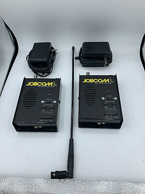 Pair Of Ritron Patriot Jbs-450 Uhf Base Stations Used