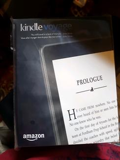 Brand new Kindle Voyage