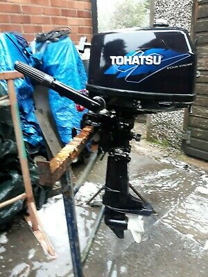 TOHATSU 6HP OUTBOARD SHORT SHAFT 4STROKE 2007