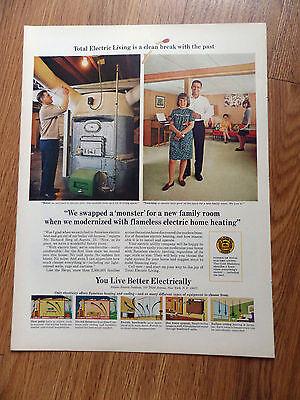 1967 Electric Heating Ad Richard Berg Aurora IL