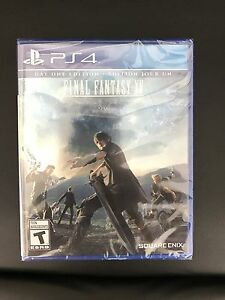 FINAL FANTASY XV SEALED/UNOPENED. PS4.