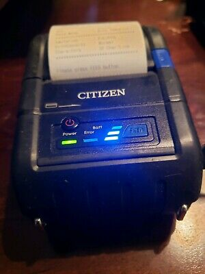 Citizen Cmp-20bt - Portable Thermal Receipt Printer