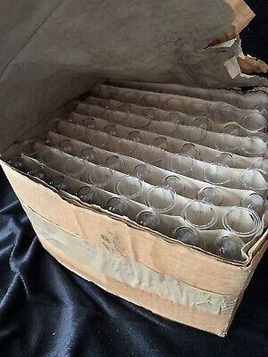 Test Tubes... Pyrex... Box Of 72... Unused... Corning Glass