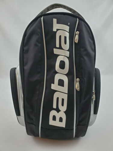 Babolat Team Black And Silver Tennis Backpack Bag