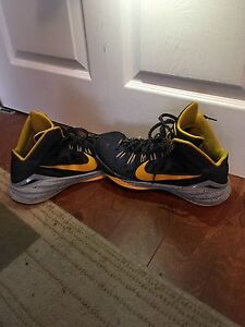 Selling Nike basketball shoes