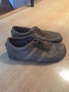 Authentic diesel size 13 leather shoes best offer