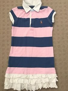 30e0f4257ae Ralph Lauren Girl s Polo T-shirt dress
