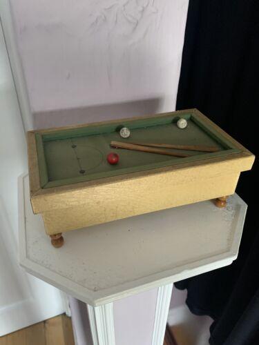 Vintage Billiard Musical Box