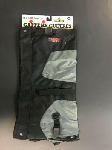Yukon Stay-Dry Snow & Hiking Gaiter M/L (Shoe 6-10) & L/XL (Shoe size 10-13)