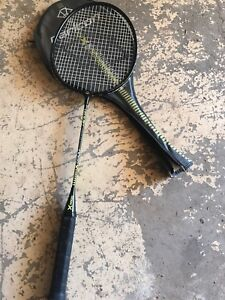 Graphite badminton racket