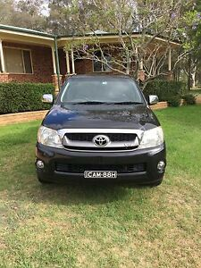 2009 Toyota Hilux SR5 Ute Pitt Town Hawkesbury Area Preview