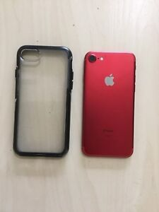iPhone 7S limited edition RED with otter box