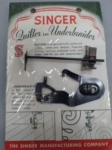 NEW Singer Underbraider & Quilt Foot Attachment No. 160936 Fit Featherweight 221