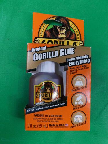 Original Incredibly Strong GORILLA GLUE 2oz bottle N2