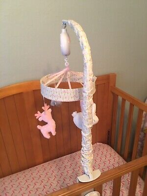 CLOUD ISLAND MUSICAL CRIB MOBILE - PINK