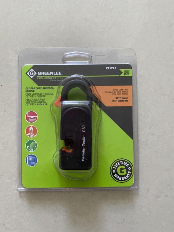 Greenlee CST Pro Coax Stripper PA1247