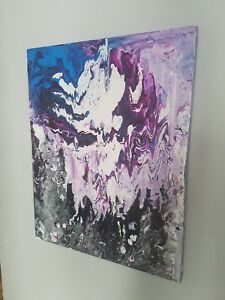 Abstract Painting By Montreal Painter