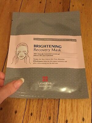 Leaders Insolution Brightening Recovery Mask