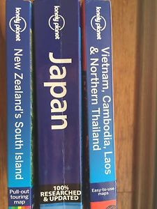 Lonely Planet Guides New Zealand, Japan, Vietnam/Cambodia Joondanna Stirling Area Preview