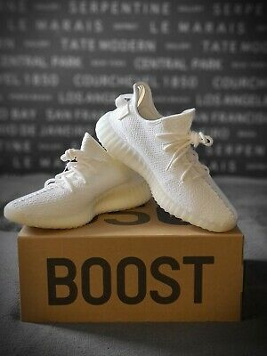 adidas Yeezy Boost 350 v2 Cream / Triple White UK 9.5