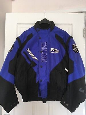 Genuine Yamaha YZF R6 Motorcycle / Motorbike Jacket COLLECTION ONLY